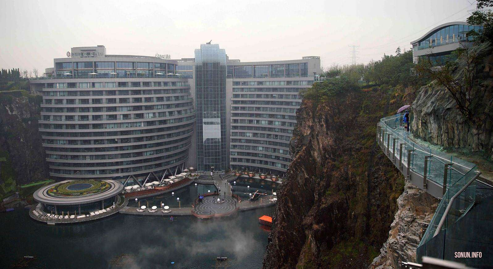 Мейманкана Intercontinental Shanghai Wonderland, Отель
